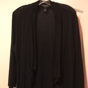 White House Black Market open draped cardigan.